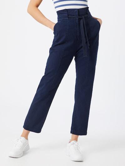 Pantaloni eleganți 'Paperbag' G-Star RAW pe albastru închis, Vizualizare model