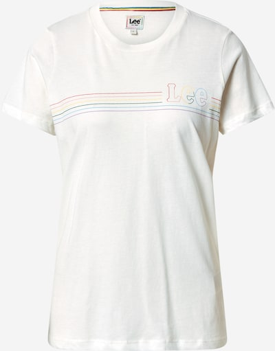Lee Shirt 'PRIDE TEE' in de kleur Wit, Productweergave