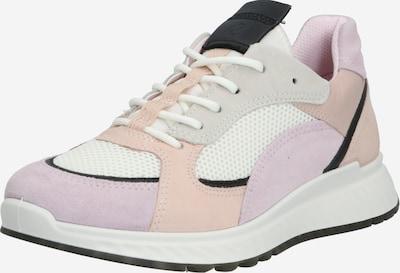 Sneaker low 'ST.1 W' ECCO pe mov pastel / roz / negru / alb, Vizualizare produs