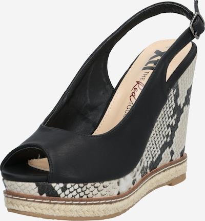 Xti Sandale in sand / schwarz, Produktansicht