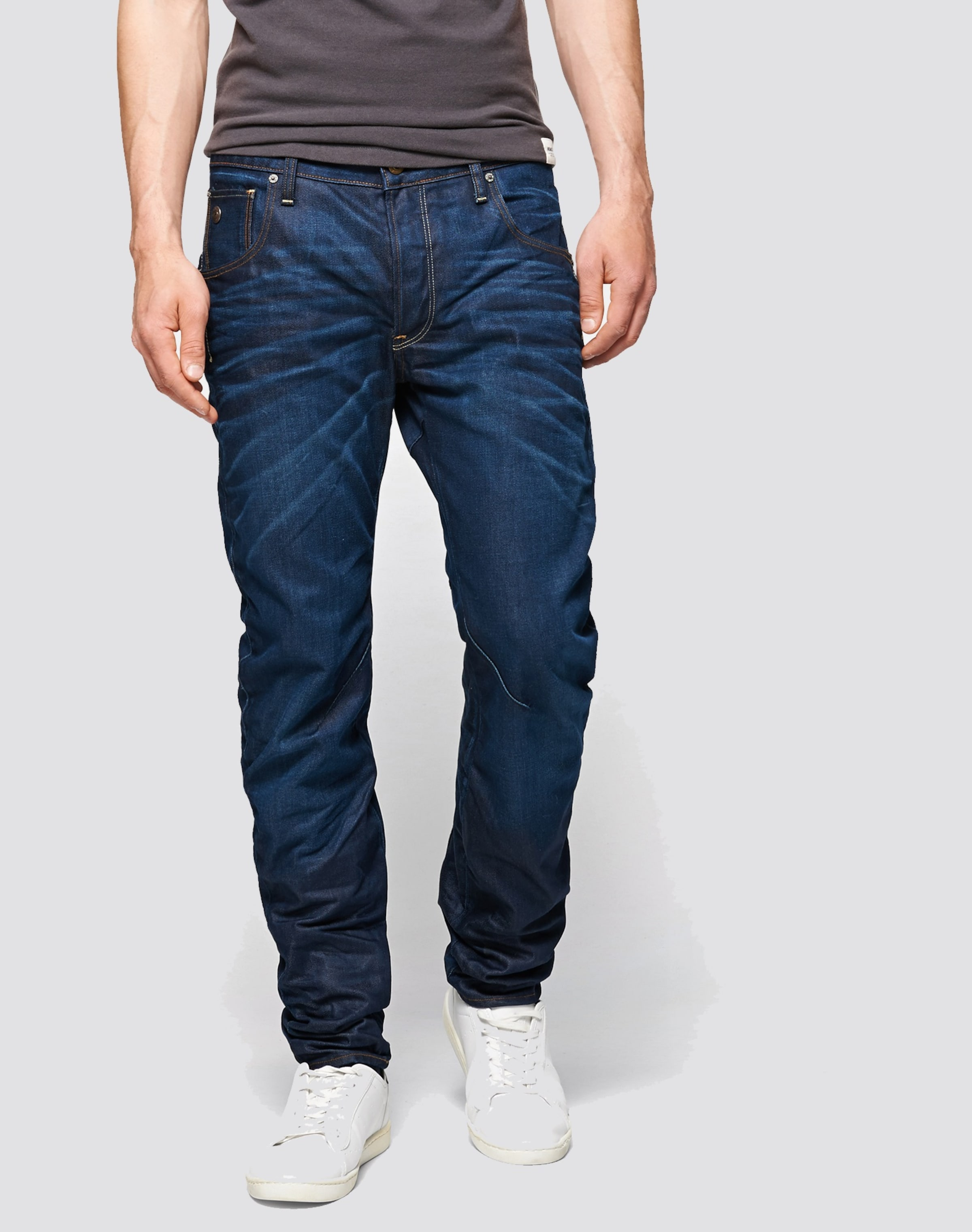 Jeans 3d' G Fit 'arc star BlauDunkelblau Slim In Raw nPXwO80k