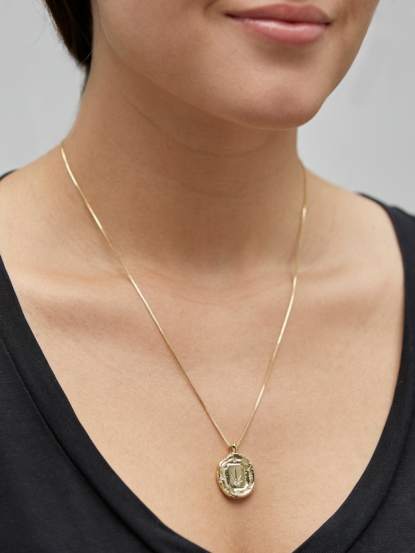 Pilgrim Kette 'Feelings of L.A.' in gold: Frontalansicht