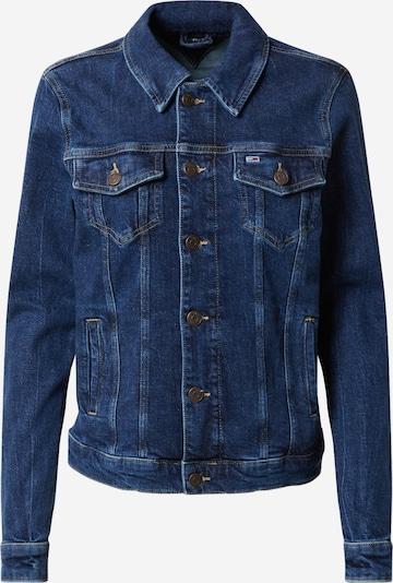 Tommy Jeans Veste mi-saison en bleu denim, Vue avec produit