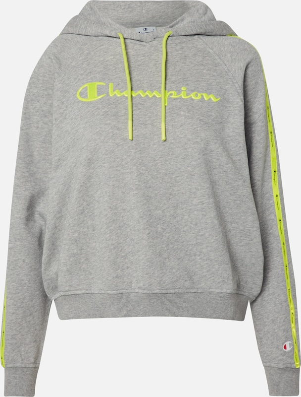 Champion Authentic Athletic Apparel Sweat-shirt en gris, Vue avec produit