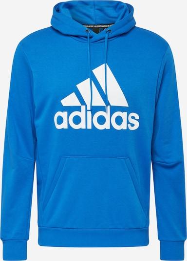 ADIDAS PERFORMANCE Sporta svīteris karaliski zils / balts, Preces skats