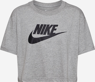 Nike Sportswear Tričko - šedá / černá, Produkt