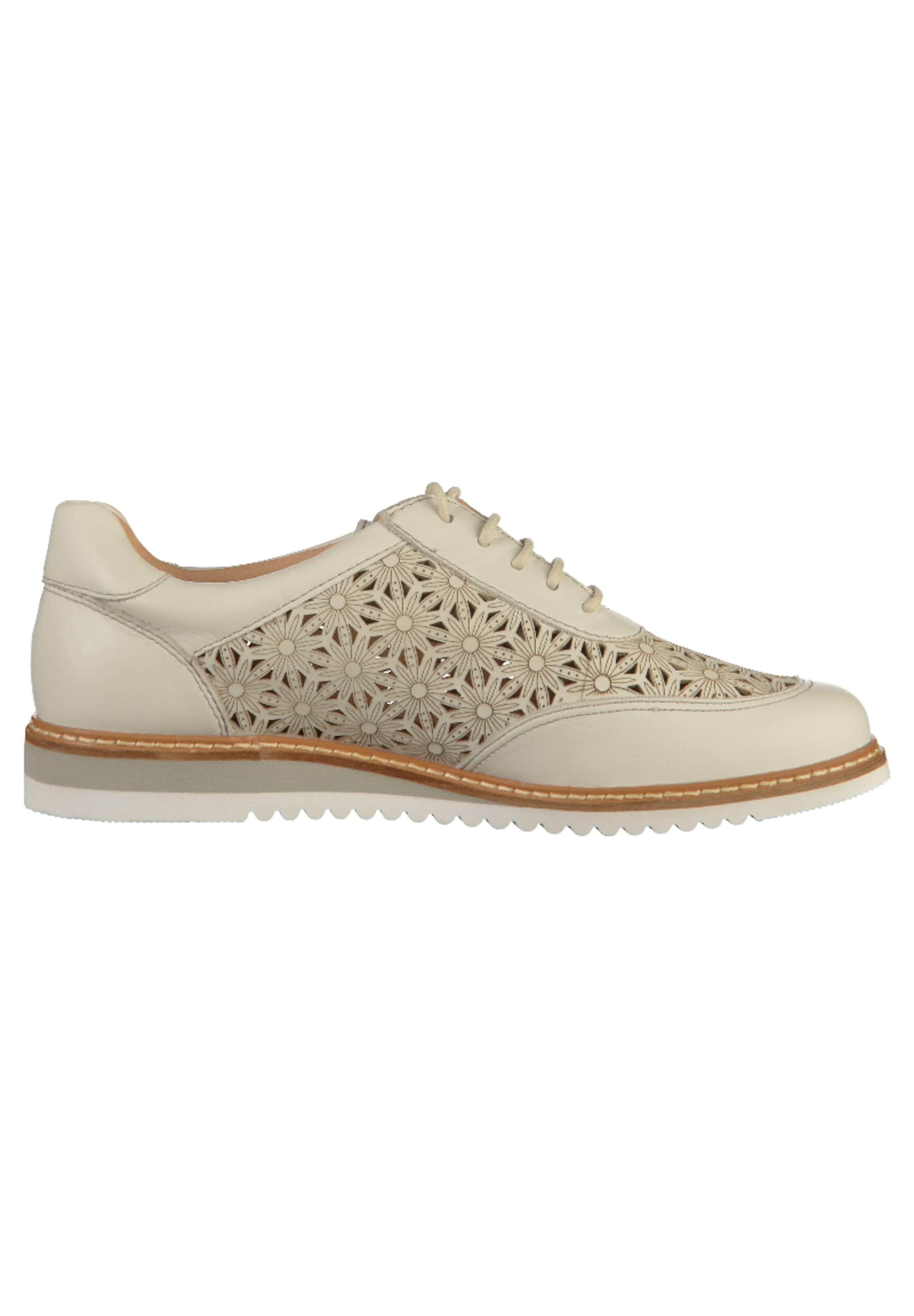 Beige Caprice Chaussure En Lacets À m8nOvN0w