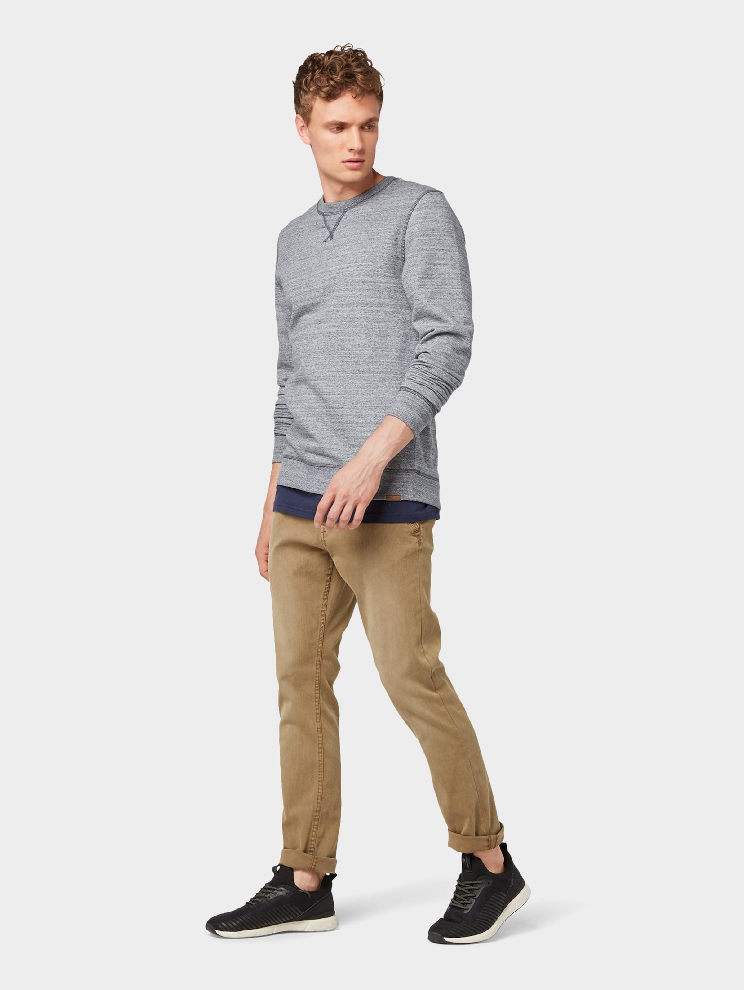 Sweatshirt In Tailor Blau Tom PZnwOXN08k