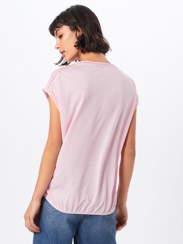 shirt S oliver T Label En Red Rose hCstdxQBro