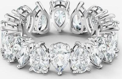 Swarovski Ring in grau, Produktansicht