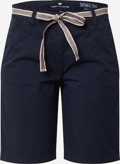 TOM TAILOR Shorts in dunkelblau, Produktansicht