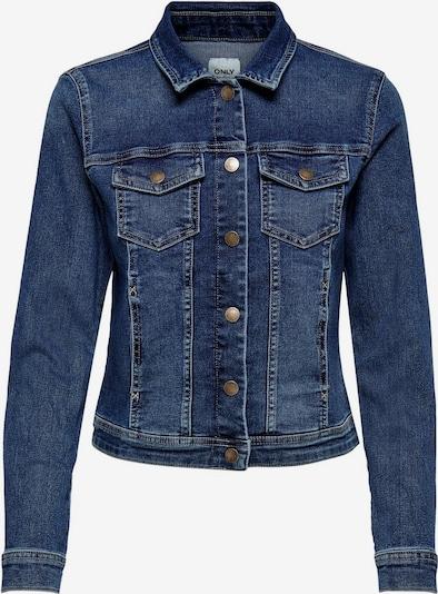 ONLY Kurze Jeansjacke in blau, Produktansicht