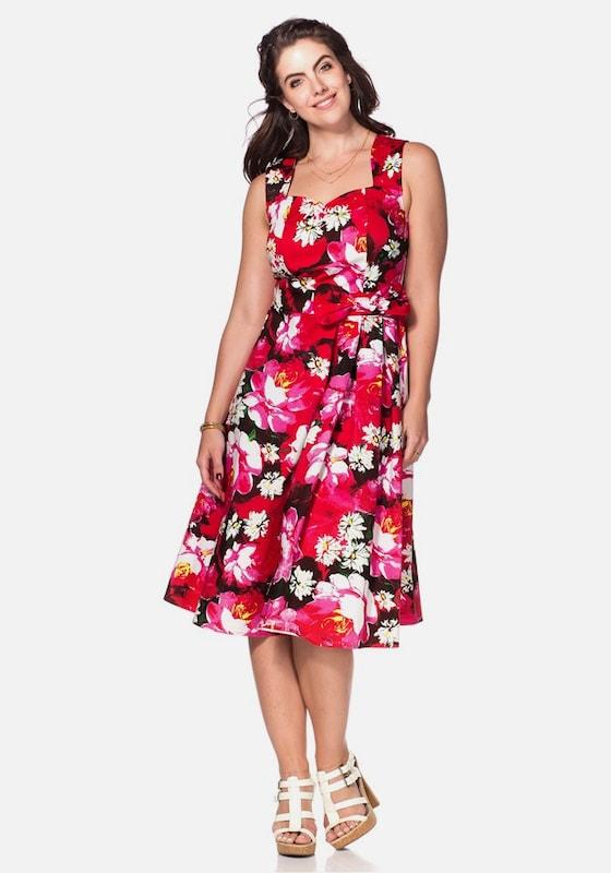 JOE braunS Elegantes Kleid Kleid Kleid in mischfarben   Rosa  Mode neue Kleidung 139380