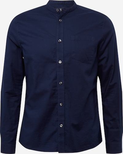 BURTON MENSWEAR LONDON Overhemd 'OXFORD*' in de kleur Navy, Productweergave