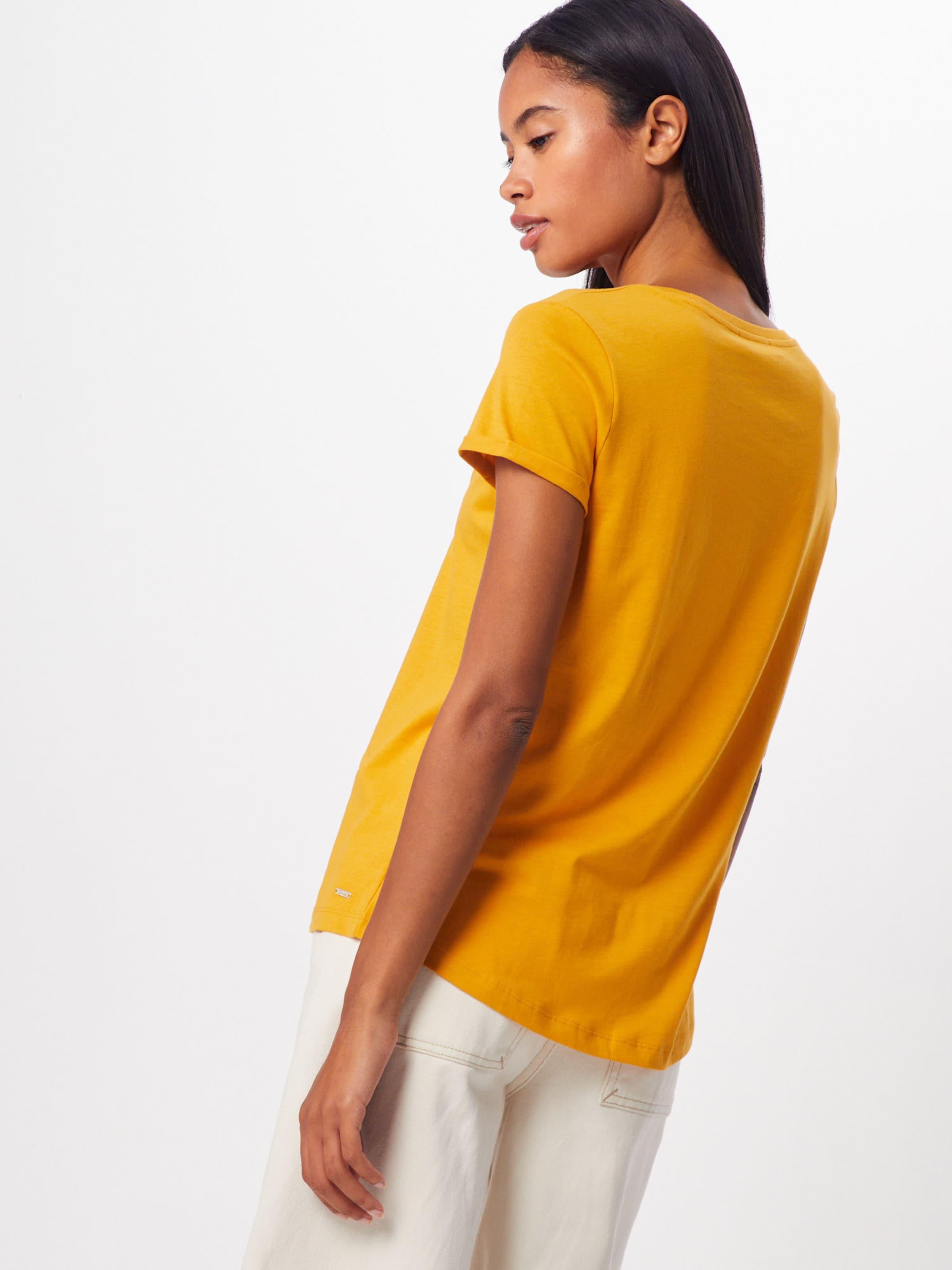 In SenfMischfarben Shirt Tom Denim Tailor N0Omw8vn