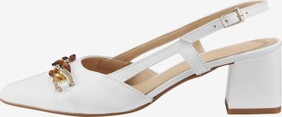 heine Slingpumps in weiß, Produktansicht