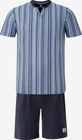 Jan Vanderstorm Pyjama kort 'Olesson' in de kleur Gemengde kleuren, Productweergave