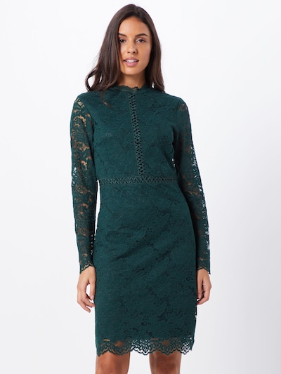 VILA Kleid 'VISIRITA L/S DRESS/DC' in grün, Modelansicht