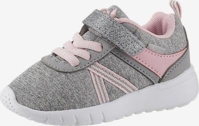 LICO Baskets 'Cakes VS' en gris chiné / rose, Vue avec produit