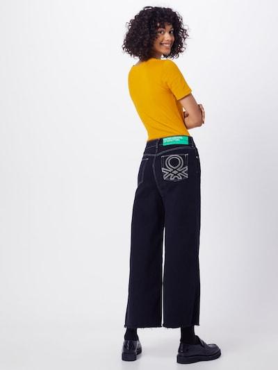 UNITED COLORS OF BENETTON Jeans in schwarz: Rückansicht