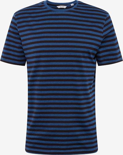 Only & Sons Shirt 'JAMIE' in de kleur Blauw / Zwart, Productweergave