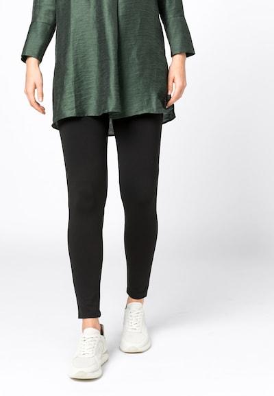 HALLHUBER Basic-Leggings in schwarz, Modelansicht