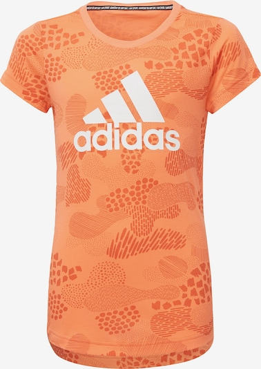 ADIDAS PERFORMANCE T-Shirt in orange / weiß, Produktansicht