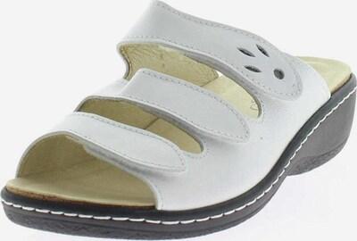 Longo Pantolette in weiß, Produktansicht