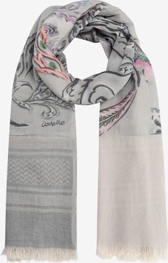 CODELLO Schal in grau / mischfarben, Produktansicht