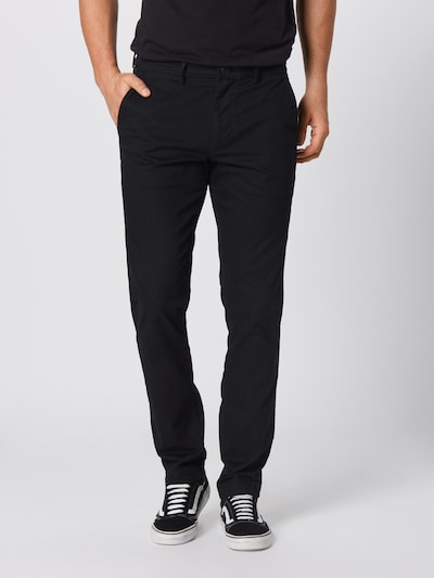 GAP Hose 'V-ESSENTIAL KHAKI SLIM FIT' in schwarz, Modelansicht