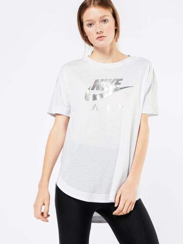 Nike Sportswear T-shirt mit Label-Print