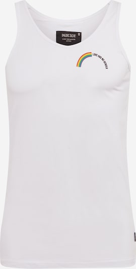 INDICODE JEANS Tanktop 'Russel' in offwhite, Produktansicht