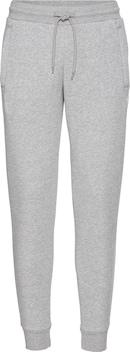ADIDAS ORIGINALS Sweatpants 'SLIM FLC PANT' in lichtgrijs