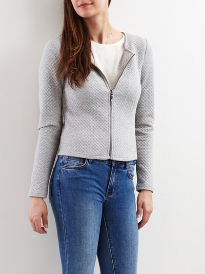 VILA Blazer 'Vinaja' in grau, Modelansicht