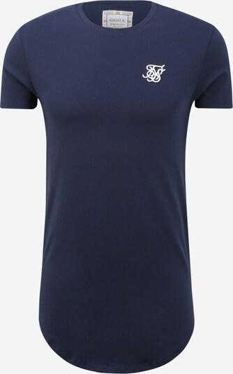 SikSilk Shirt in navy, Produktansicht