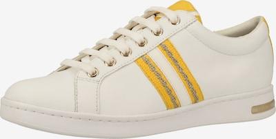 GEOX Sneaker in gelb / weiß, Produktansicht