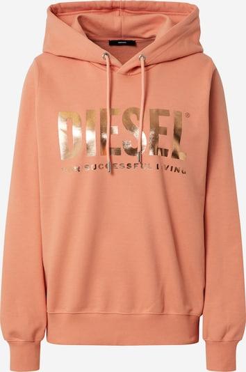 DIESEL Sweatshirt 'F-ANG-HOOD-LOGO SWEAT-SHIRT' in apricot, Produktansicht