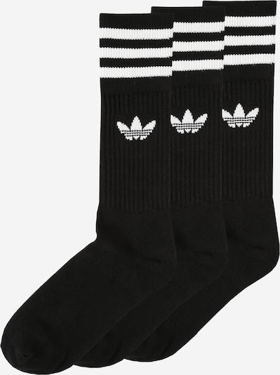 ADIDAS ORIGINALS Socken in schwarz / weiß, Produktansicht