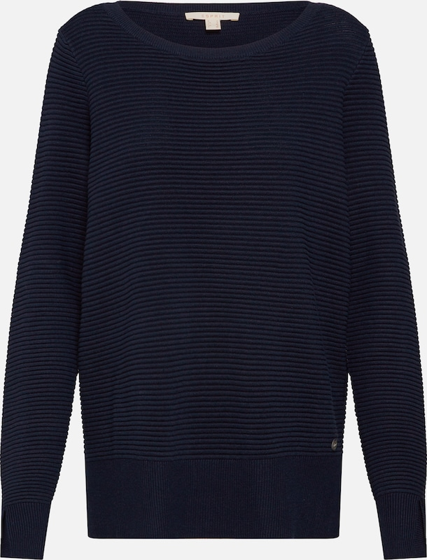 Esprit over 'sweater En Ottoman' Marine Pull Bleu Ajqc3L54R