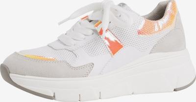 TAMARIS Sneaker in orange / weiß, Produktansicht