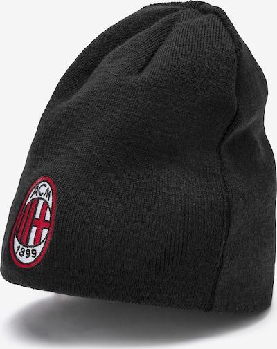 PUMA Wende-Beanie 'AC Milan' in schwarz, Produktansicht