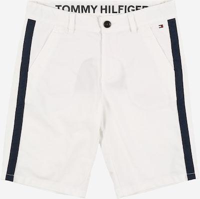 TOMMY HILFIGER Chinoshorts in schwarz / weiß, Produktansicht