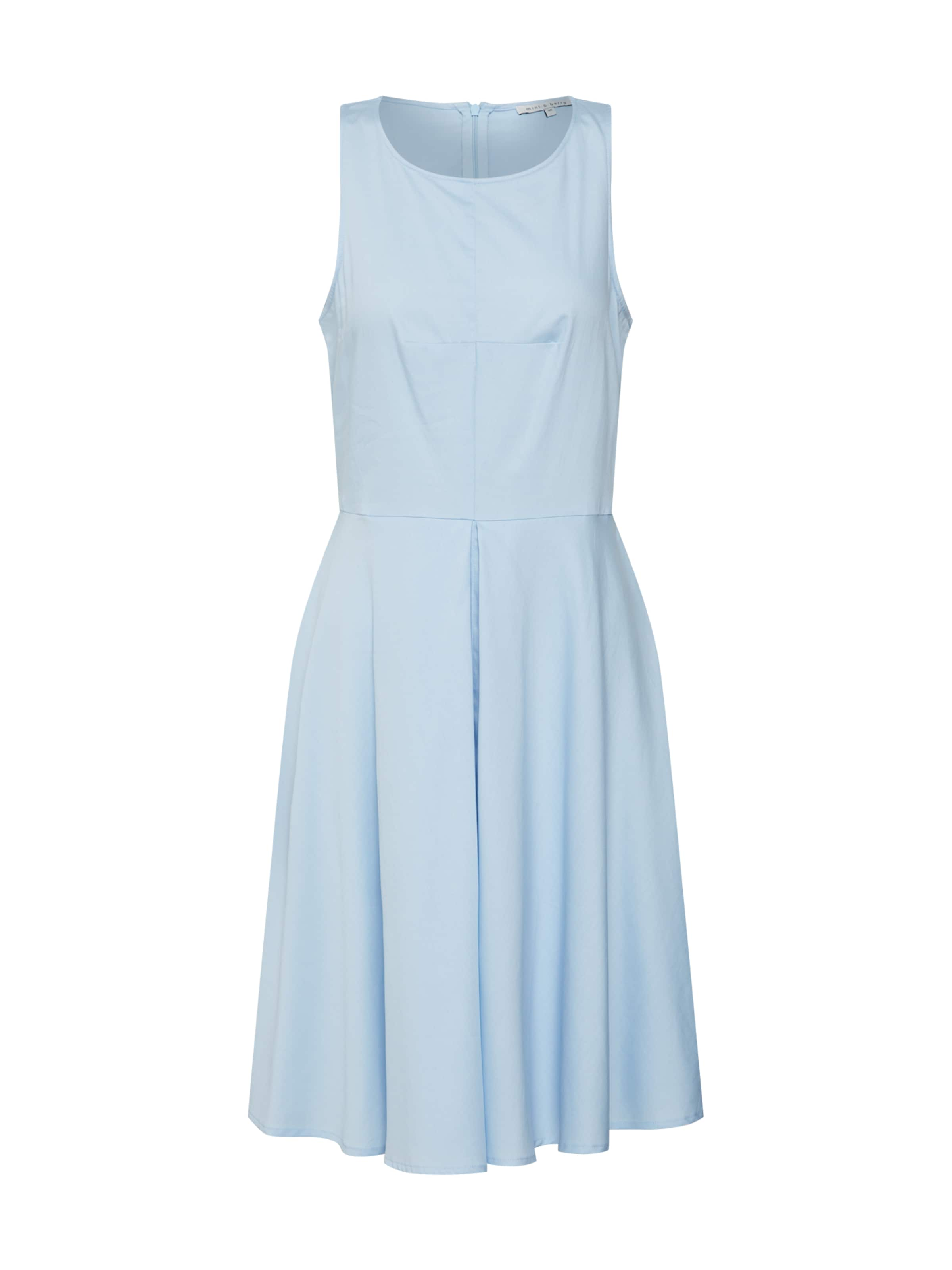 Hellblau amp;berry Mint Dress Kleid Flare In 'fitamp; WInverted Pleat' SMLUpGVqz