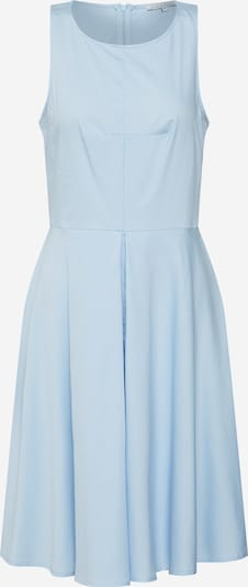 mint&berry Zomerjurk 'fit & flare dress w/ inverted pleat' in de kleur Lichtblauw, Productweergave