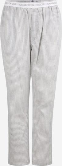Pižaminės kelnės iš Calvin Klein Underwear , spalva - pilka / balta, Prekių apžvalga