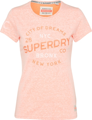 Superdry Koszulka 'CITY OF DREAMS ENTRY'