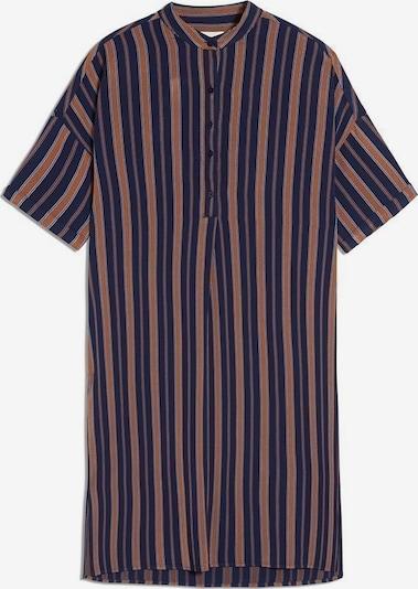 ARMEDANGELS Kleid 'Maarjuli Multicol Stripes' in chamois / dunkelblau, Produktansicht