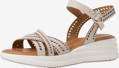 Sandale cu baretă TAMARIS pe bej, Vizualizare produs