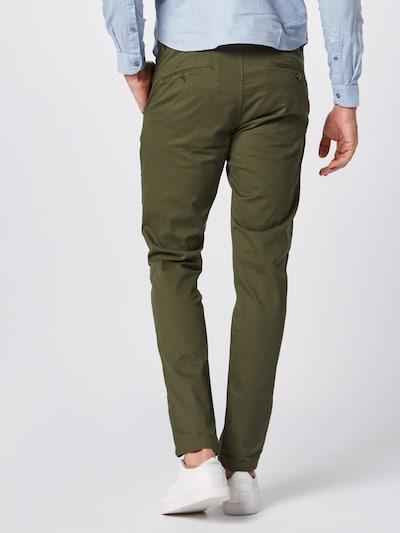 SCOTCH & SODA Pantalon chino 'Mott' en vert foncé: Vue de dos