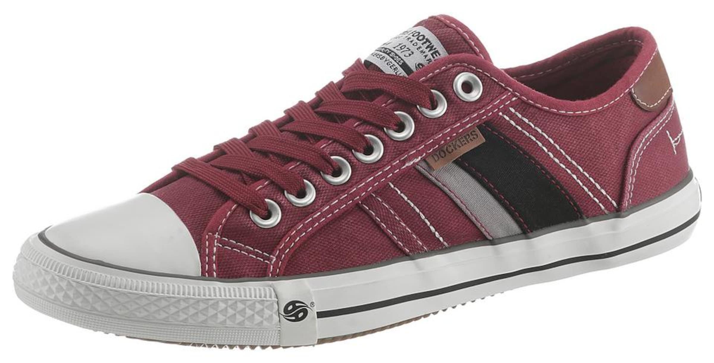 Sneaker Gerli In Karminrot By Dockers EIYW9HD2